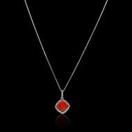 """Just Because"" Color Gem Stone & Diamond Necklace"
