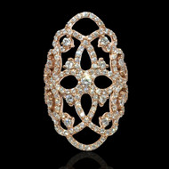 The Taj Diamond Cocktail Ring