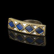 Royal Bridge Ring Diamonds & 18K Gold