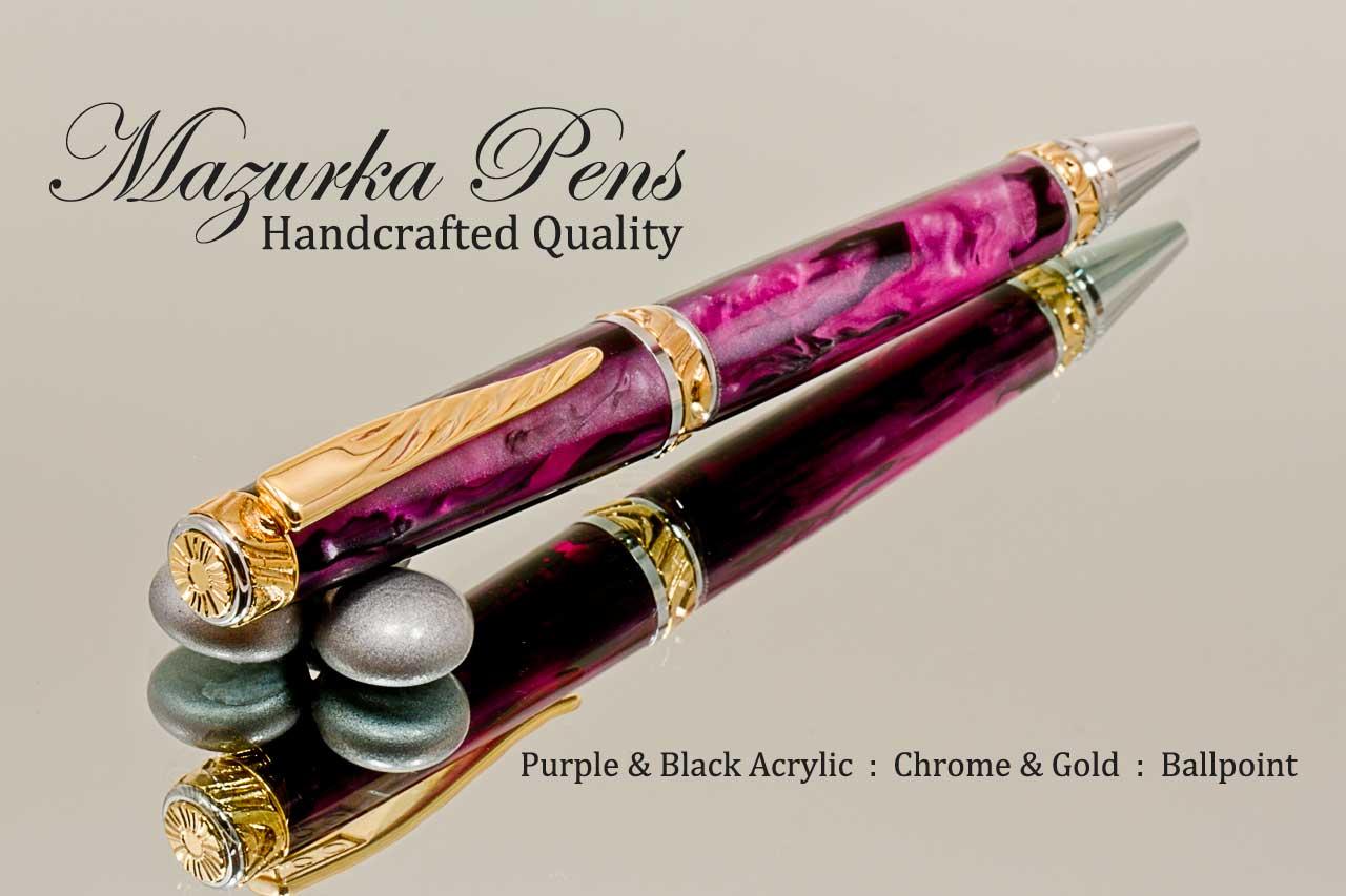 handmade-ballpoint-pen-purple-black-gold-chrome-b.jpg
