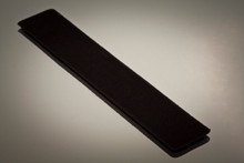 Black velvet pen sleeve protector