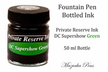 DC Supershow Green Private Reserve Ink - 50ml bottle