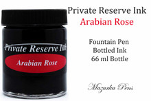 Private Reserve Fountain Pen Liquid Bottled Ink - Arabian Rose Color