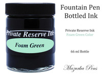 Private Reserve Fountain Pen Liquid Bottled Ink - Foam Green