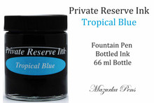 Private Reserve Fountain Pen Liquid Bottled Ink - Tropical Blue