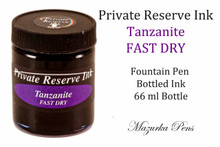 Tanzanite color FAST DRY Private Reserve liquid ink - 66 ml bottle