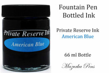 American Blue Private Reserve Ink Color - 66ml bottle