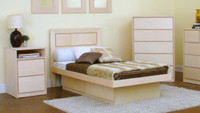 Art Deco 4-Piece Twin Bedroom Set