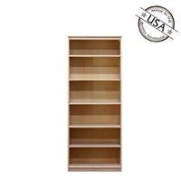 Lexington Birch Bookcase, 12x30x72