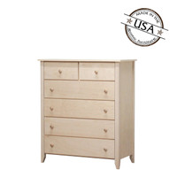 Shaker Chest With Six Drawers in Birch