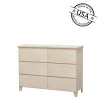 Mid Century Modern Dresser 6 Drawers