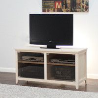 "LIberty TV Media Stand With Glass Doors  24"" Height"
