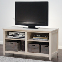 "Liberty TV Media Stand With Open Shelving 24"" Height"