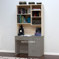 "Flat Iron Computer Hutch, 41"" Wide"