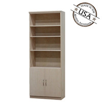 "Flat Iron Wall Unit with 2 Doors 16"" Deep"