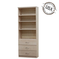 Flat Iron Wall Unit with 3 Drawers