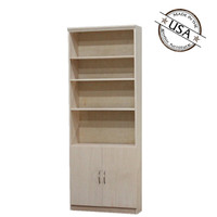 Flat Iron Wall Unit with 2 Doors
