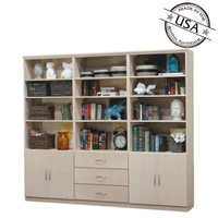 Flat Iron Wall Unit 3 Piece Set
