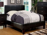 Full / Queen Padded Leatherette Bed