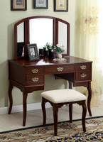 Vanity Table In Cherry
