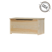 "American Pride Lift Top Storage Box With Safety Hinge (36"" Wide)"