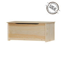 "American Pride Lift Top Storage Box with Safety Hinge (42"" Wide)"
