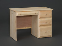 Riverdale Desk With 4 Beveled Edge Drawers