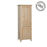 Pantry With 2 Raised Panel Doors And Drawer
