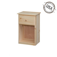 Maspeth Nightstand  With 1 Drawer