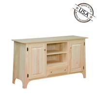 "Slanted Top TV Stand 55"" Wide"
