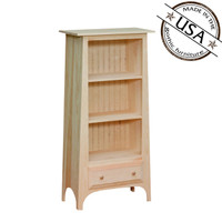 Bookcase With Slanted Top