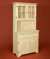 American Pride Country Kitchen Server With Hutch