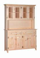 American Pride Large Kitchen Buffet Server And Hutch