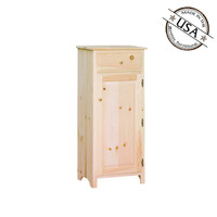 American Pride One Door One Drawer Jelly Cabinet