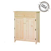 American Pride Two Door One Drawer Jelly Cabinet