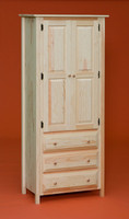 American Pride 2 Door 3 Drawer Linen Cabinet