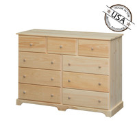 Alpine Dresser With 9 Drawers