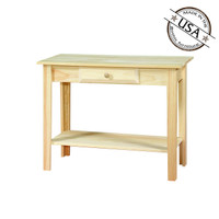 American Pride Sofa Table With One Shelf