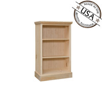 "Bookcase With 2 Adjustable Shelves 20"" Wide & 30"" High"