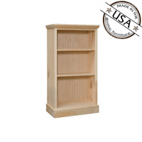 "Bookcase With 2 Adjustable Shelves 20"" Wide & 36"" High"