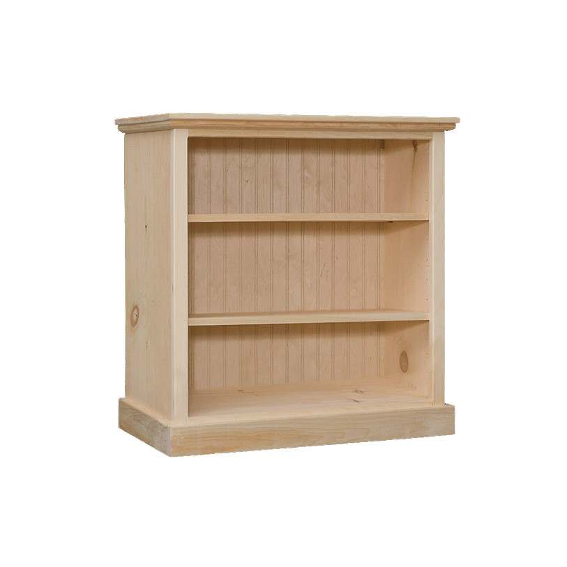 bookcase with 2 adjustable shelves 32 quot wide 30 quot high