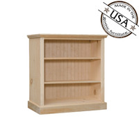 "Bookcase With 2 Adjustable Shelves 32"" Wide & 30"" High"