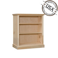 "Bookcase With 2 Adjustable Shelves 32"" Wide & 36"" High"