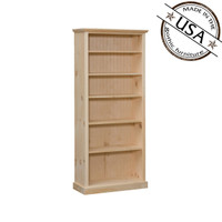 American Pride Five Shelf Bookcase