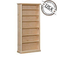 "American Pride Six Shelf Bookcase (38"" Wide)"