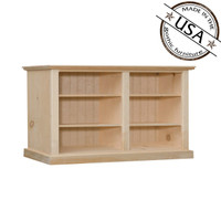 "Bookcase With 4 Adjustable Shelves 50"" Wide & 30"" High"
