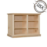 "American Pride Four Shelf Bookcase (50"" Wide)"