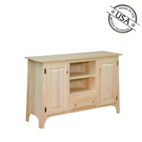 """Slanted Top TV Stand  48"""" Wide"""