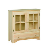 American Pride Country Display Cabinet