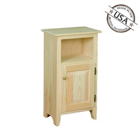Small Cabinet With Drawer and Shelf